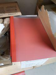 Bürobedarf Dokumentenmappe Register Locher Thermobindemappe