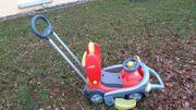 Kinderfahrzeug Rutscher mit langem Schiebegriff
