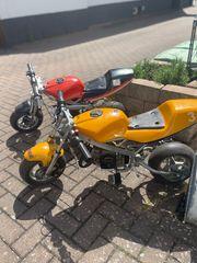 Pocket Bike 2x Mini Motorräder