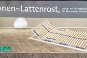 7-Zonen Lattenrost 90x 200 - OVP