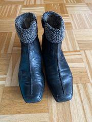 Gabor warme schwarze blaue Stiefelette
