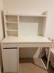 Schreibtisch MICKE Ikea weiß 150x50cm