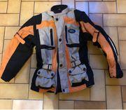 Motorrad Jacke für Kinder gr