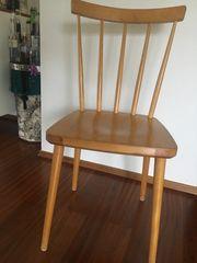 Stuhl Holz retro