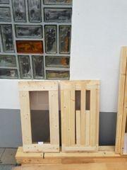 Holzfenster neu
