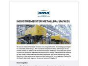 Industriemeister Metallbau m w d