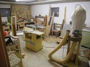 Werkstatt-Schreiner-Tischler Scheppach Hobelmaschine Bandsäge Tisch-Kreissäge
