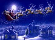Das Weihnachtsmann- Telefon hat noch