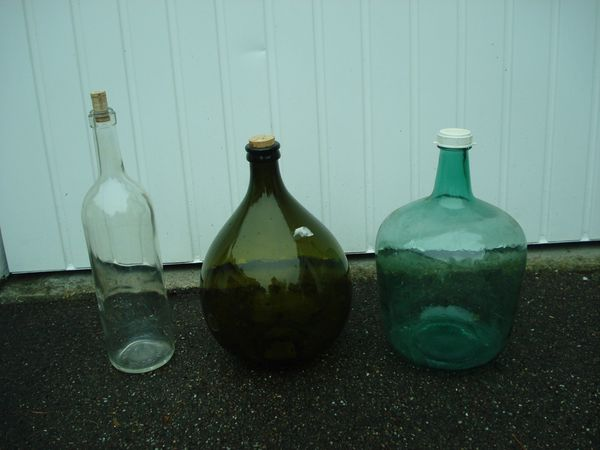 Glasballonflaschen Glasbehälter Ballonflaschen Getränkebehälter Schnapsbehälter