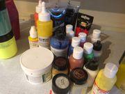 Acrylfarben - Hobbyauflösung - gegen Abholung - 85586
