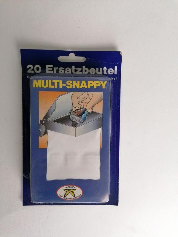 Abfallbehälter Snappy Ersatzbeutel Weiß OVP