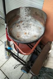 Grill mit Rollen barbecue