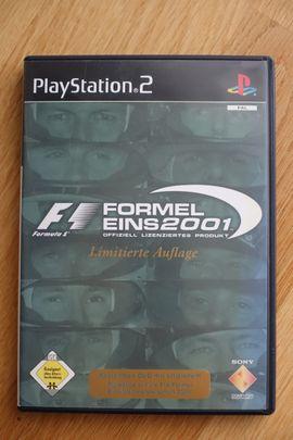 Formel 1 2001 + Bonus-DVD für die Playstation 2 PS2