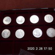 5 DM Silberadler 1972 D