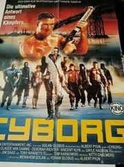 Van Damme Orginal Plakat Cyborg