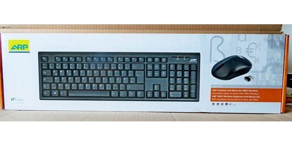Neues Set bestehend aus FUNK-Tastatur