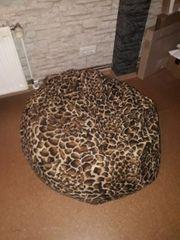 Sitzsack Leopard