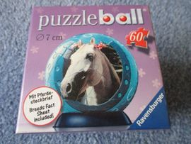 Bild 4 - Puzzleball Ravensburger 60 Teile Pferde - Ludwigshafen
