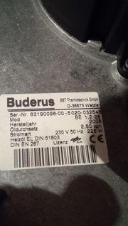 Verkauf Buderus BE 1 2-28