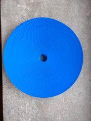 Sicherheitsgurtband 25 mm Blau