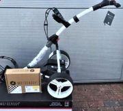 Elektrocaddy von Motocaddy S1 digital