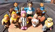 8 alte Werbefiguren der Sparkasse