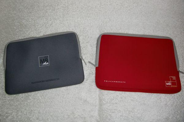 2 Schutztaschen MacBook 13 3