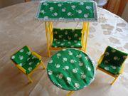 Vintage - Gartenmöbel für 29 cm