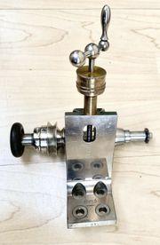 Uhrmacherwerkzeug Uhrmacher Höhensupport Lorch Zahnradfräsmaschine