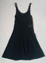 Bloch schwarz-transparentes Tanzkleid Gr S