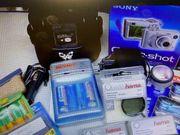 Sony Cyber-shot DSC-W1 5 1 MP
