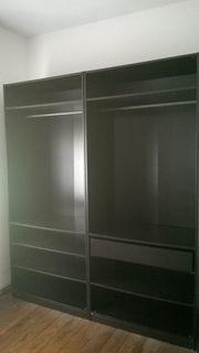 2x Ikea PAX Schrank dunkelbraun