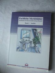Fachbuch Merkblätter Band 1 Sanitär