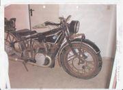 Suche uraltes Motorrad zum Restaurieren