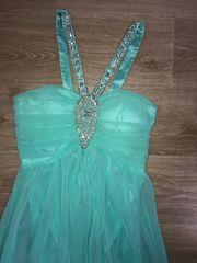 Abendkleid Ballkleid Prinzessinnenkleid mit Steinen