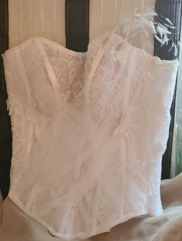 Hochzeitskleid Brautkleid aus Frankreich passend
