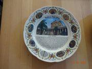 mehrere Speiseteller - Souvenir aus Rom
