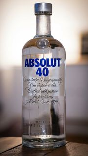 ABSOLUT 40 Limited Edition Vodka