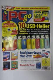 Konvolut Computerzeitschriften z B PCgo