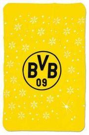 BVB Fleecedecke Winterfleecedecke Neu Borussia