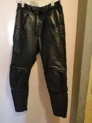 Motorrad Lederhose echt Leder größe