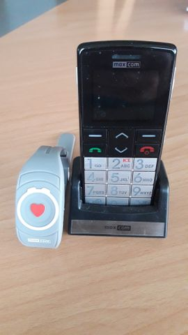 Sonstige Handys - Seniorenhandy mit Notrufarmband