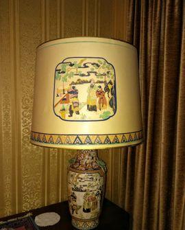 Tischlampe aus Vietnam