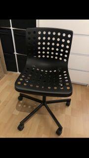 Schreibtischstuhl Ikea Schwarz Bürostuhl Rollen