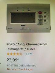 KORG CA-40 Chromatisches Stimmgerät Tuner