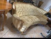 Barock Biedermeier Sofa Garnitur