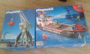 Playmobil 4470 - Hafenkran und 4472