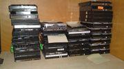 Ca 30 Festplatten aus PC-Werkstattauflösung