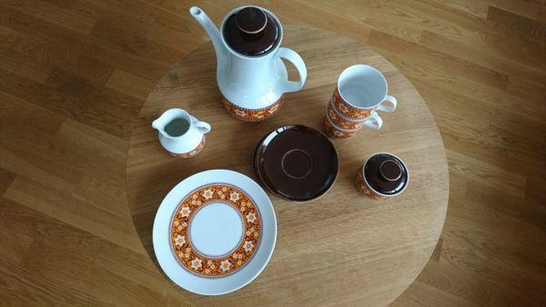 Kaffeeservice Geschirrset Bareuther Waldsassen