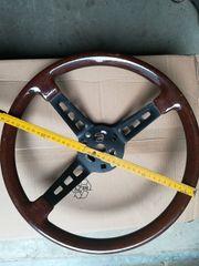 Italo-Oldtimer-Holz-Imitat-Lenkrad vermutlich aus Alfa Fiat